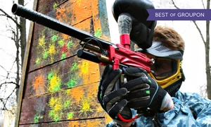 Action Games Paintball: All-Day Paintball and Lunch for One, Two, or Four at Action Games Paintball (Up to 50% Off)
