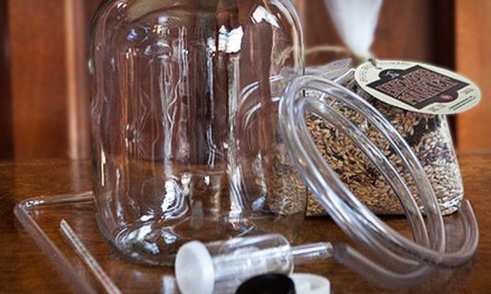 The Brewer's Market: One-Batch or Two-Batch Beer-Brewing Kit from The Brewer's Market (Up to 54% Off)