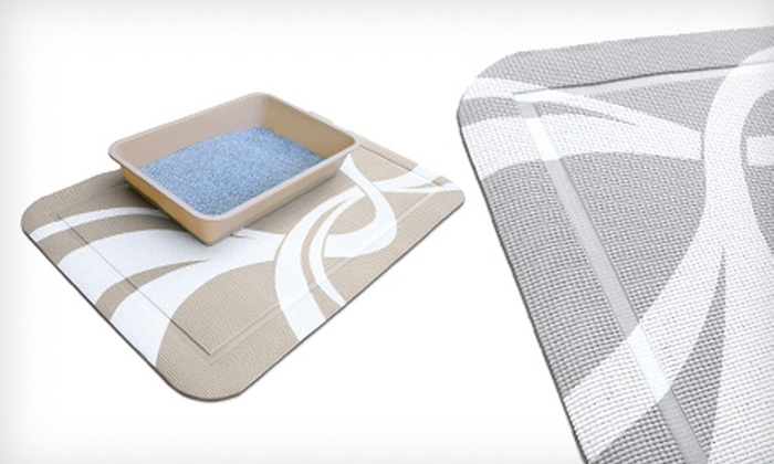PetFusion SmartGrip Litter Mat: $17 for a PetFusion SmartGrip Litter Mat in Beige or Gray ($34.95 List Price). Free Shipping and Free Returns.