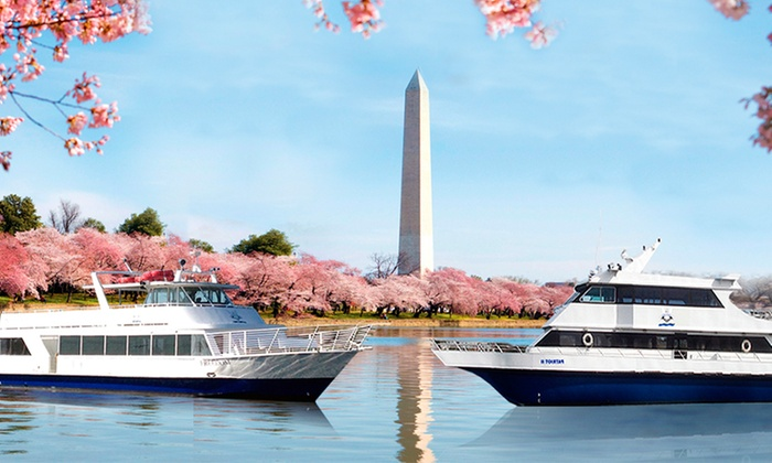 National Ferry Corporation - Washington: $18 for a Sunset or Cherry Blossom Harbor Cruise from National Ferry Corporation ($35 Value)