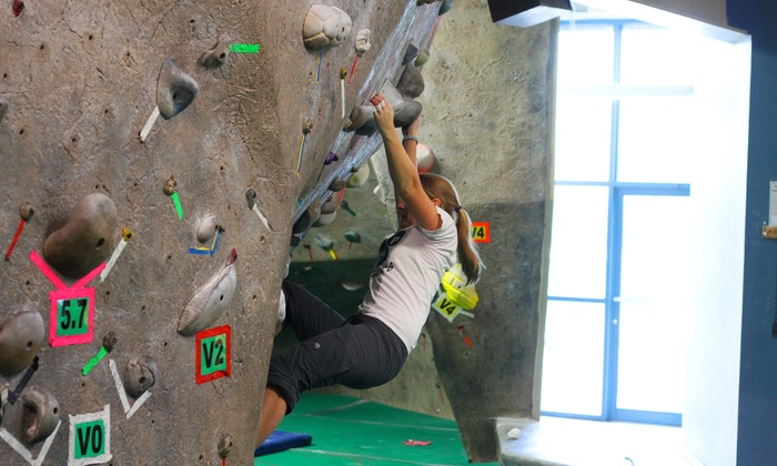 Boulders Climbing Gym - Hawthorne: One or Five Days of Indoor Climbing or Bouldering Class at Boulders Climbing Gym (Up to 76% Off)