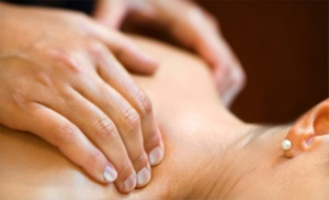 Hilda Demirjian Laser & Spa: Massage or Facial at Hilda Demirjian Laser & Spa (Up to 66% Off). Three Options Available.