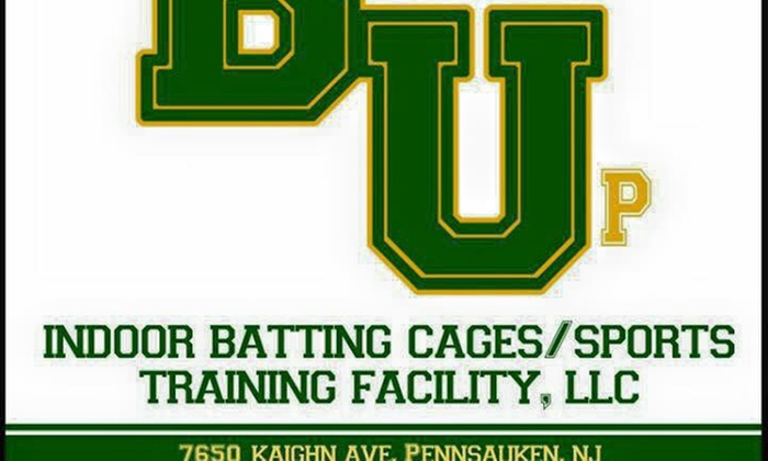 Batter up - Pennsauken: Up to 51% Off Batting cages or pitching tunnel at Batter up