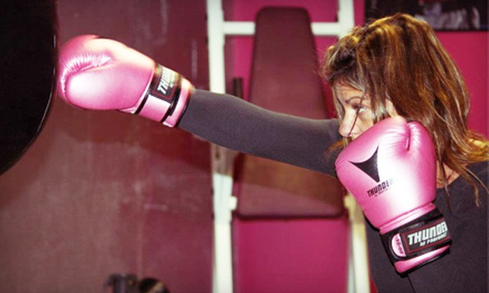 Striking Beauties - North Attleborough: $59 for Women's Boxing Package with One Month of Unlimited Classes at Striking Beauties in North Attleboro ($129 Value)