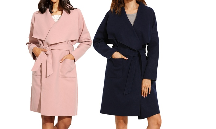 My Shop Your Shop: $29 for a Women's Oversized Lapel Collar Coat (Don't Pay $149)
