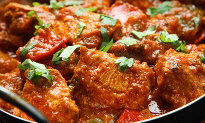 Haveli Indian Cuisine - Berkeley Lake: Dinner for Two or Four or Indian Lunch Buffet for Two at Haveli Indian Cuisine (Up to 54% Off)