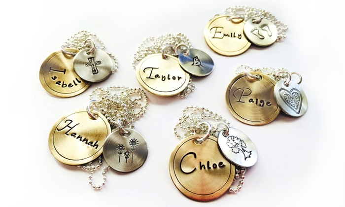 LillyEllenDesigns: One or Two Mixed Metal Necklaces from LillyEllenDesigns (Up to 63% Off)
