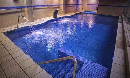 Circuito termal de 2:30h para 2, 4 o 6 personas con opción a masaje relajante de 30 minutos desde 12 € en Fitness Lleure
