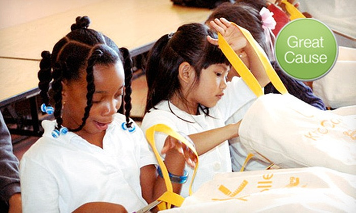 K to College: $11 Donation to Help Distribute School Supplies
