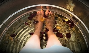 SW Day Spa: One or Two Warm Herbal Foot Soaks at SW Day Spa (78% Off)