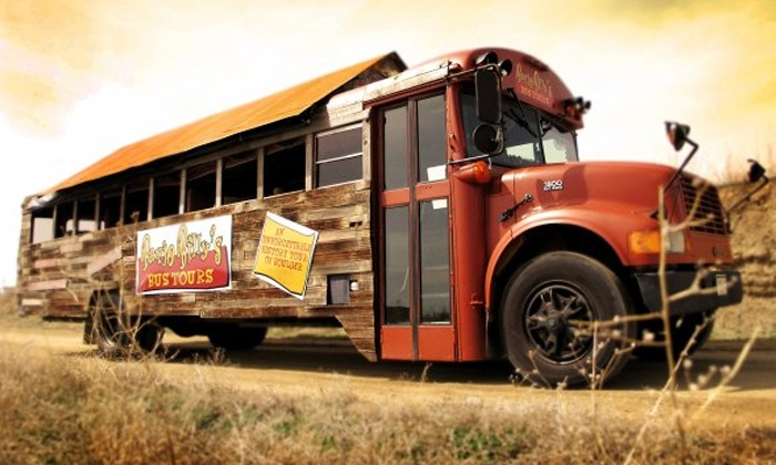 Banjo Billy's Bus Tours - Multiple Locations: Denver or Boulder History Tour for Two or Four from Banjo Billy's Bus Tours (43% Off)