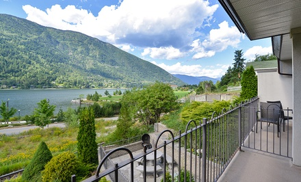 Stay at Prestige Inn Nelson in Nelson, BC. Dates into July.