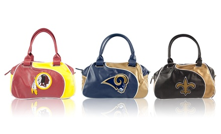 NFL Women's Perforated Perfect Bowler Bags. Multiple Teams Available.