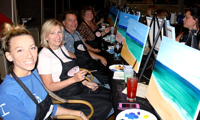 Let's Get Artzy - Jacksonville: Paint Night Party for One or Two from Let's Get Artzy (Up to 56% Off)