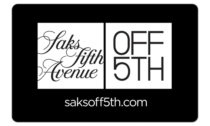 This Saks OFF 5TH offer is not currently available through Groupon Coupons, but check back later for Saks OFF 5TH coupons, promo codes, and sales. In the meantime, click through to see some great Saks Fifth Avenue offers!5/5(9).