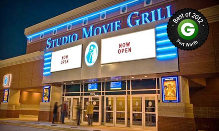 Studio Movie Grill - Multiple Locations: $5 for Movie and Soda at Studio Movie Grill (Up to $14 Value)