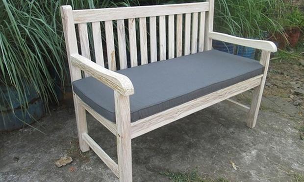 gartenbank aus teakholz groupon goods. Black Bedroom Furniture Sets. Home Design Ideas