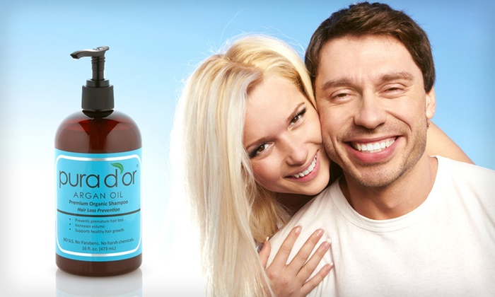 Pura D'or Hair-Loss-Prevention Shampoo: $19 for Pura D'or Premium Organic Hair-Loss-Prevention Shampoo ($37 List Price). Free Shipping.