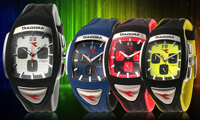 Diadora Watches: Diadora Men's Watches. Multiple Styles From $39.99 to $44.99. Free Returns.