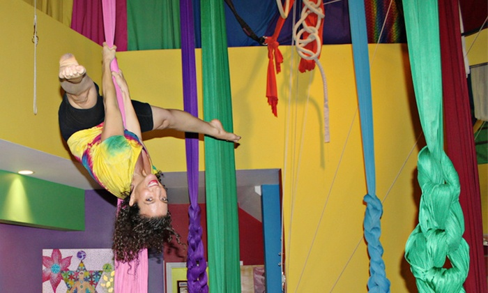 Learning2Fly - Mission: $24 for Two 75-Minute Aerial Fitness Classes at Learning2Fly ($40 Value)