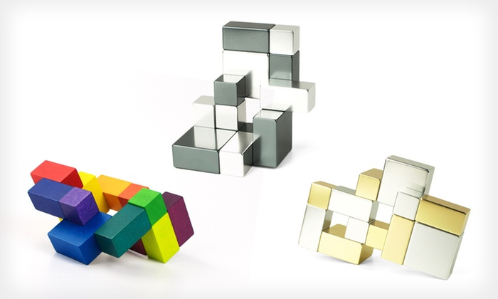 Playable Art Cubes: Playable Art Cube in Wood or Metal (Up to 34% Off). Three Options Available. Free Shipping and Free Returns.