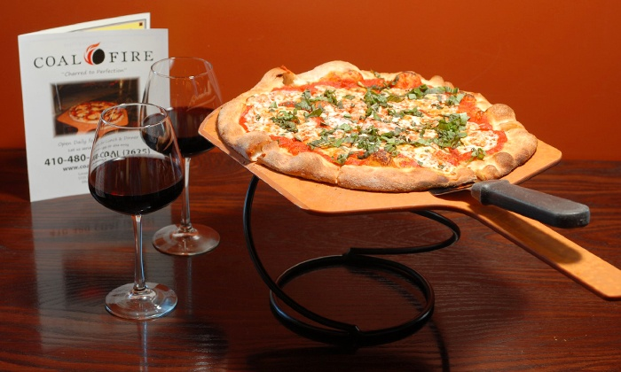 Coal Fire - Wormans Mill Industrial Park: $12 for $20 Worth of Coal-Oven Pizza, Wings, and Salads at Coal Fire