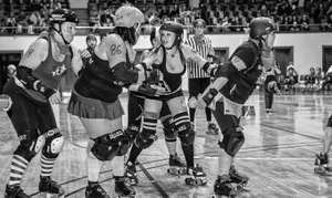 Pikes Peak Derby Dames: $15 for a Pikes Peak Derby Dames Game for Two at Colorado Springs City Auditorium on May 16 or June 13 ($30 Value)