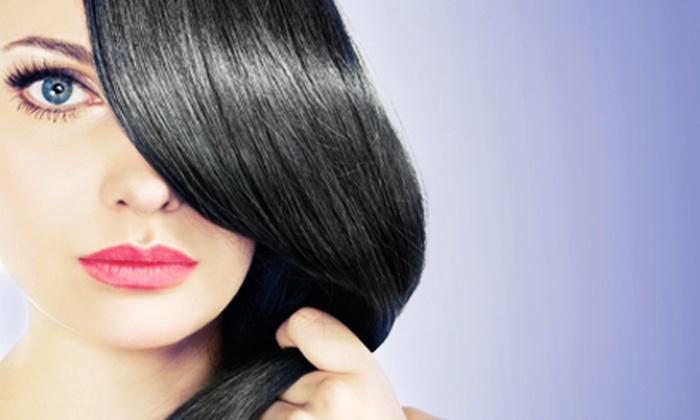Styling Sun-Sations - Toledo: Haircut and Wax or Keralyze Salon Smooth Treatment with Optional Take-Home Kit at Styling Sun-Sations (Up to 51% Off)