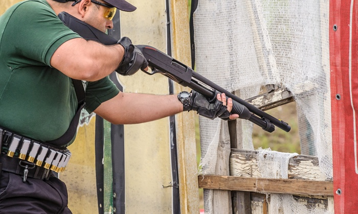 Renaissance Firearms Instruction - in Mitchel's Field Athletic Complex: Indoor Firearms Shooting Experience for One or Two from Renaissance Firearms Instruction (Up to 75% Off).