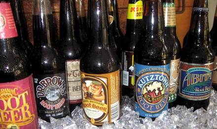 Gourmet Root Beer Package or Deluxe Gourmet Root Beer Package at The Root Beer Store (Up to 54% Off)