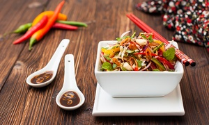 Talay-Le Meridien AD: Four-Course Thai Meal for Up to Eight People at Talay-Le Meridien (Up to 58% Off)