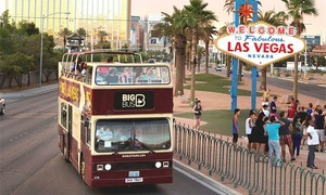 Big Bus Tours: Hop-On, Hop-Off Day Tour for 1 or 2 with Optional Rodizio Lunch or CSI Experience (Up to 43% Off)