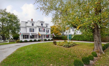 groupon daily deal - 1- or 2-Night Stay with a Bottle of Wine at The Grassmere Inn in the Hamptons. Combine Up to 8 Nights.