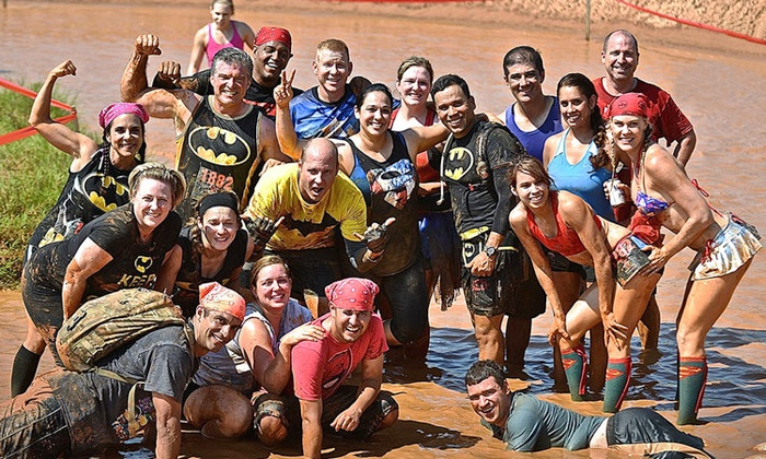 Gladiator Rock n' Run - Joseph D. Grant Regional Park: $45 for an Obstacle Race from Gladiator Rock'n Run (Up to $100 Value)