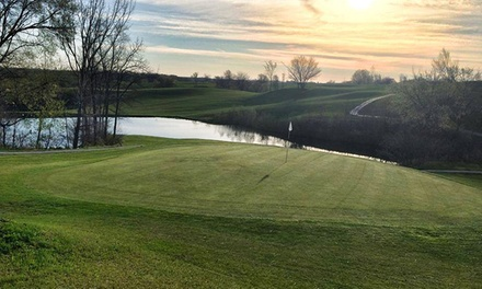 $21 for an 18-Hole Round of Golf with Cart for Two at Cedar Valley Golf Course (Up to $62 Value)