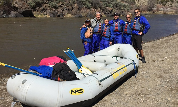 Big River Raft Trip - Rio Grande Gorge Visitor Center Parking Lot: White Water Rafting Trip Down the Rio Grande Gorge for Four or Six from Big River Raft Trip (Up to 43% Off)