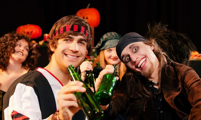 UStreetPubCrawls.com - Multiple Locations: Halloween Pub Crawl from UStreetPubCrawls.com on Saturday, November 1 (Up to 58% Off). Four Options Available.