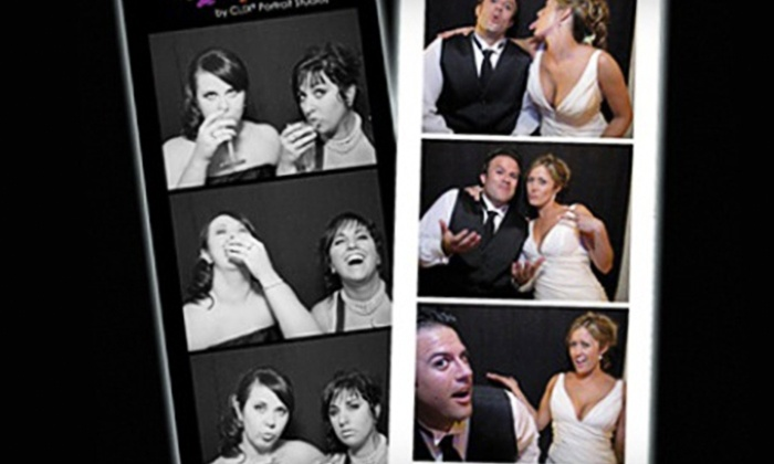 CL!X Portrait Studios - ON LOCATION: $350 for a Three-Hour Photo-Booth Rental from Clix ($795 Value)