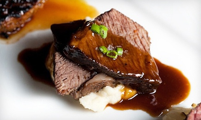 Benchmark Restaurant & Brooklyn Brewery - Flatiron District: $75 for a Steak Tutorial and Three-Course Dinner Benefiting City Harvest with Executive Chef of Benchmark ($125 Value)