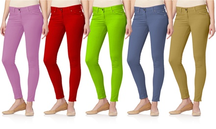 Women's 5-Pocket Skinny Jeans