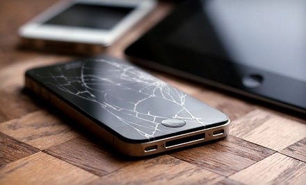 iPhone 4 or 4S Screen Repair or $50 for $100 Worth of iPad Repairs at CellSurgeon