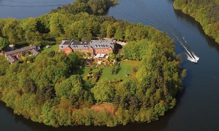 Cheshire: 1 Night for Two with Breakfast and Options for a Cream Tea and Prosecco or Dinner at Nunsmere Hall Hotel
