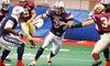 57% Off Indoor Football League Game for Two or Four