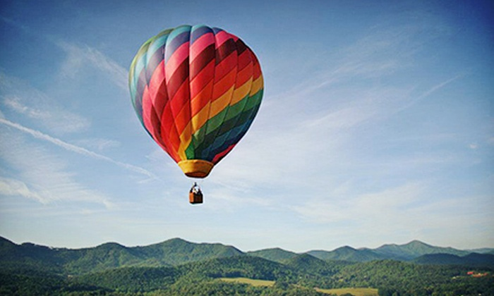 Asheville Hot Air Balloons - Asheville: $125 for a One-Hour Sunrise Hot Air Balloon Ride from Asheville Hot Air Balloons ($235 Value)
