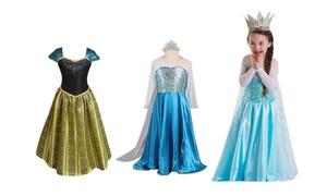 Costume da principessa per bimbe