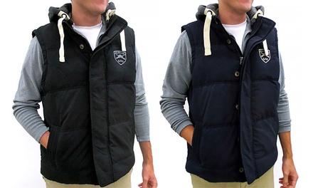 Men's Down-Filled Mens Vest