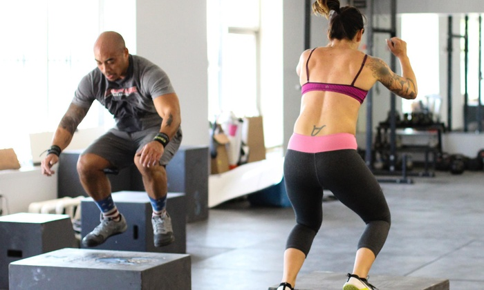 Code 3 Athletics - CrossFit Code 3: 5 or 10 Boot-Camp Classes, or One Month of Unlimited Boot-Camp Classes at Code 3 Athletics (Up to 76% Off)