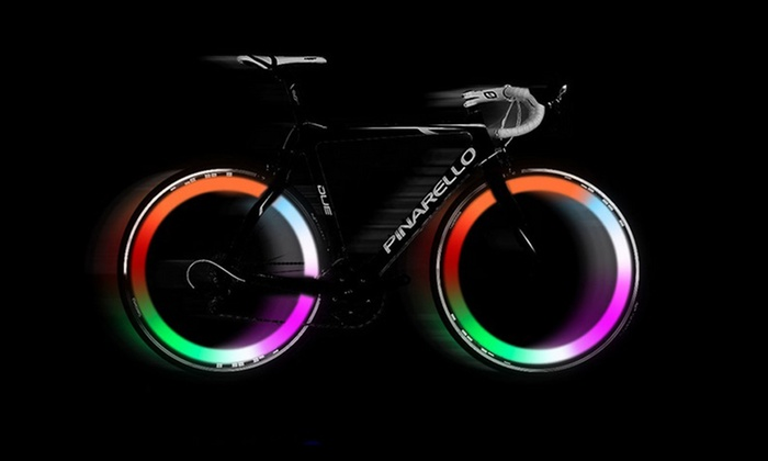 Multicolor LED Bike Wheel Lights