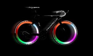 Multicolor LED Bike-Wheel Lights: Multicolor LED Bike-Wheel Lights