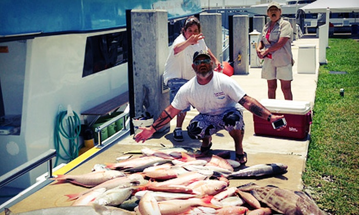 Outta Control Sport Fishing - Barrier Island: Daytime Deep-Sea-Fishing Trip from Outta Control Sport Fishing (42% Off)